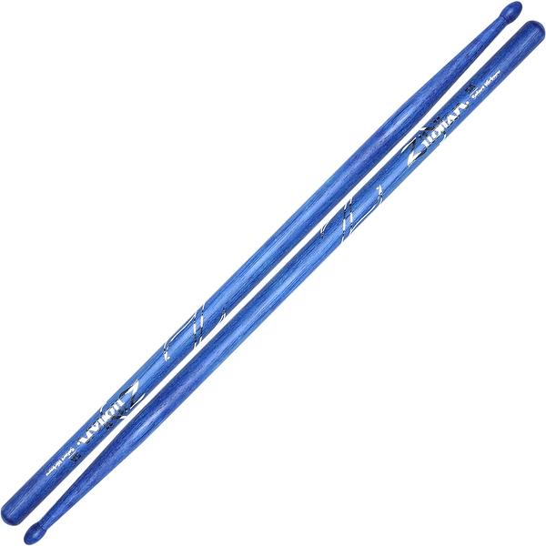 小叮噹的店- ZILDJIAN Z5ABU 5A 藍色鼓棒 山胡桃木