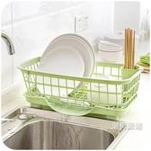 瀝水架廚房放碗架瀝水架置物架塑料收納架餐具架子碗筷收納盒碗櫃xw