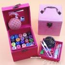 針線盒家用套裝針線盒韓國婚慶手提針線套裝...