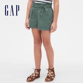 Gap女童甜美荷葉邊飾休閒短褲540063-草綠