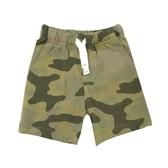 Carter s卡特 純棉鬆緊腰居家短褲 綠迷彩 | 男寶寶褲子(嬰幼兒/小孩/baby)