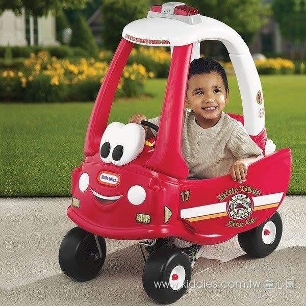 (限宅配)美國【Little Tikes】→消防警車(幼教社 親子餐廳 感覺統合 教具 遊具 批發 玩具 童書
