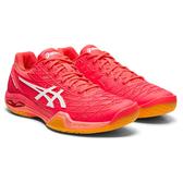 ASICS 19FW 頂級 女羽球鞋 COURT CONTROL FF系列 1072A019-702 贈運動襪【樂買網】