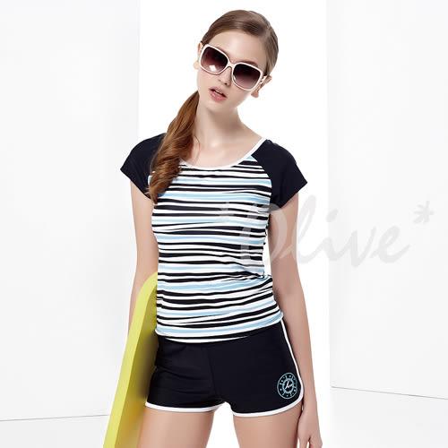 ☆小薇的店☆MIT聖手品牌亮眼條紋風格時尚二件式泳裝特價990元 NO.A92638(S-XL)