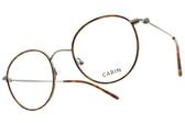 CARIN 光學眼鏡 LIM MORE C3 (琥珀棕-槍黑) 韓星秀智代言 簡約知性圓框款 # 金橘眼鏡