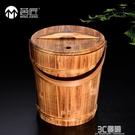 茗匠功夫茶具木制茶桶木廢水桶茶道配件倒茶葉桶排水桶垃圾茶渣桶 3C優購HM