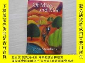 二手書博民逛書店Of罕見Mice And Men (With Notes) 40