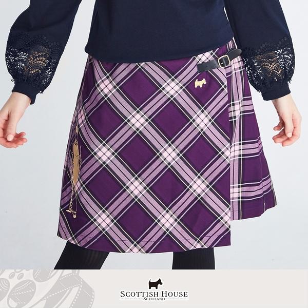 赫本人像蘇格蘭斜格裙 Scottish House 【AM2124】