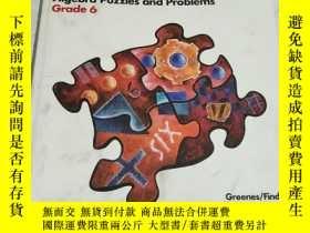 二手書博民逛書店Groundworks罕見Algebra Puzzles and