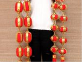 節樂小紅燈籠串掛飾春節過年新年裝飾掛件大紅戶外喜慶會場布置 初语生活