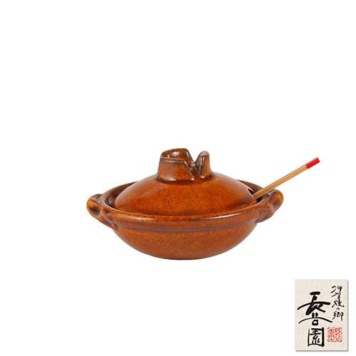 【日本長谷園伊賀燒】香料陶瓷小器皿(黃釉)