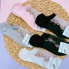 女襪 透膚襪 船型襪 小碎花 碎花襪子 短襪