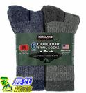 [COSCO代購 832] 促銷至1月29日 W7699887 Kirkland Signature 科克蘭 美麗諾羊毛混紡戶外襪六入