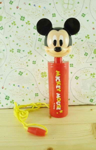 【震撼精品百貨】Micky Mouse_米奇/米妮 ~攜帶型電扇-紅米奇