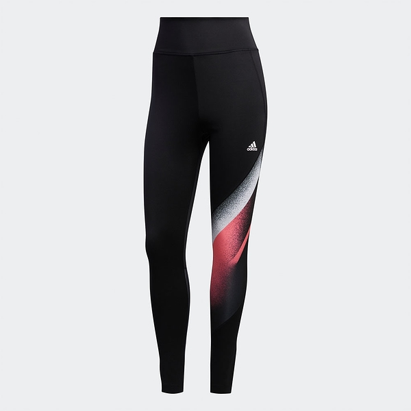ADIDAS UC FB 7/8 TIGHT 女裝 長褲 緊身 慢跑 訓練 後腿透視 刷色 黑【運動世界】GD4549