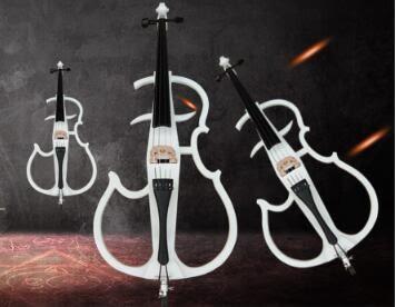 全手工電子大提琴 高級提琴 舞臺演奏大提琴 電聲大提琴【藍星居家】