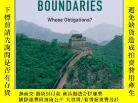 二手書博民逛書店Justice罕見across Boundaries:Whose Obligations?Y247378 On