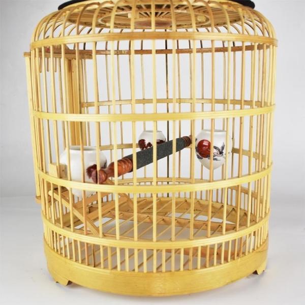 畫眉鳥籠竹制精品川籠特價八哥鳥籠百靈鳥籠