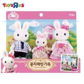 玩具反斗城 P & P 兔寶家族-家庭公仔組