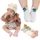 童襪 嬰兒襪 5雙入-春夏薄棉透氣孔造型船襪 襪子-JoyBaby