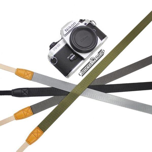 微單相機帶掛脖拍立得減壓相機背帶純色單反相機帶復古