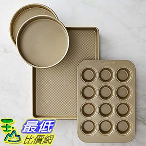 [美國直購] Williams-Sonoma Goldtouch Nonstick 4-Piece Bakeware Set 烘培用具