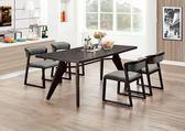 【新北大】✪ C873-3 牛頓6尺餐桌(不含餐椅)-18購