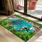 地墊 3D地墊門墊進門入戶門口地毯臥室浴室衛生間吸水家用廚房防滑腳墊【快速出貨】
