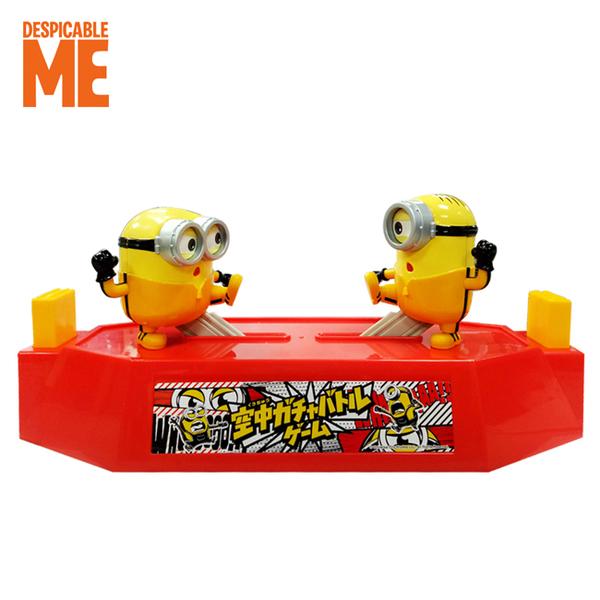 【日本正版】小小兵 功夫對打決鬥台 雙人對打機 拳擊對戰玩具 對打玩具 神偷奶爸 - 157397