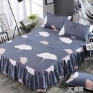 席夢思床罩床裙式床套單件床墊罩保護防塵防滑1.8米1.5m床笠床單 3C優購