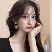 (兩對裝)高級感耳墜耳環2020新款潮韓國氣質網紅長款誇張耳釘女時尚耳飾品  牛轉好運到