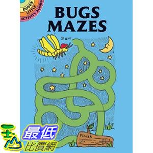 [106美國直購] 2017美國暢銷兒童書 Dover Publications-Bugs Mazes (Dover Little Activity Books) Paperback