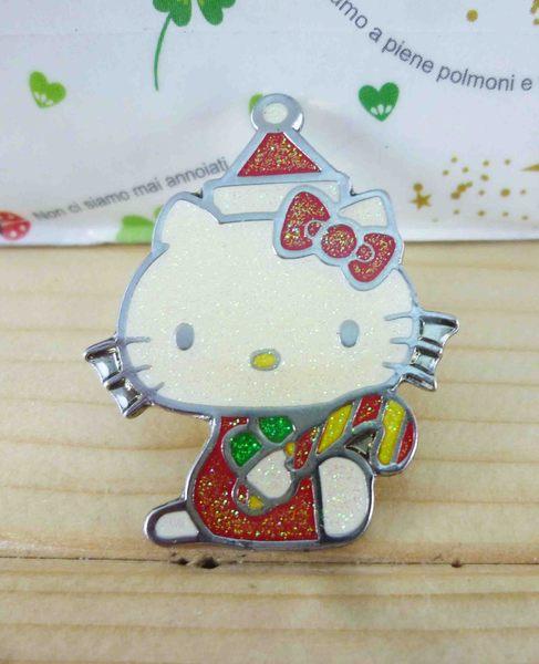 【震撼精品百貨】Hello Kitty 凱蒂貓~KITTY造型徽章-聖誕節