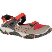 My Foot MERRELL 女款 ALL OUT BLAZE SIEVE MJ 輕量越野登山戶外多功能鞋- 駝X橘