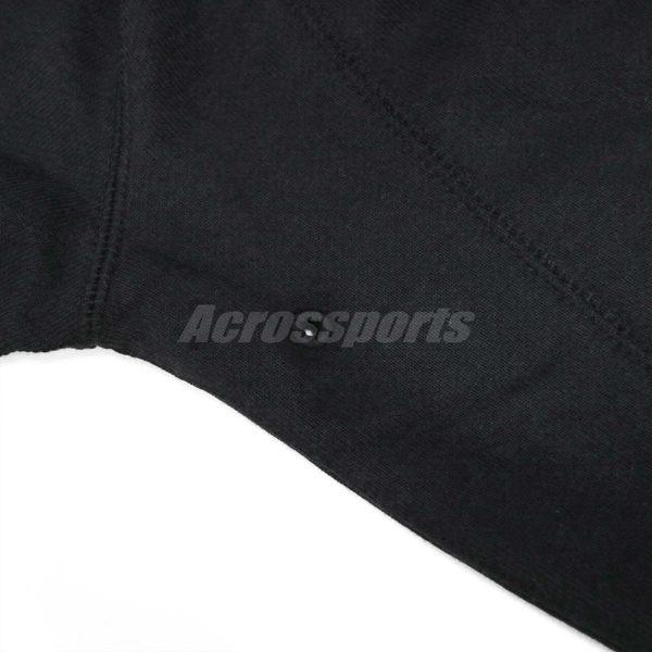 Nike T恤 Jsw Wgs Flc 男款 喬登 飛人 23 大學服 素面 內刷毛 大學T 素T 長袖 上衣 黑 【PUMP306】 860195-010