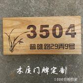 掛牌創意定制門牌復古文藝店鋪廣告牌戶外木制木牌實木 1995生活雜貨NMS