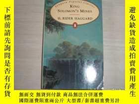 二手書博民逛書店KING罕見SOLOMON IS MINES【156】Y10970 R. Haggard 著 ENGUIN
