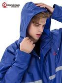 琴飛曼單人雨衣雨褲套裝加厚男女分體成人騎行外 【時尚新品】