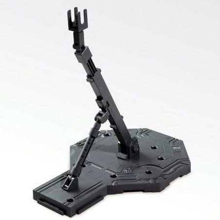 鋼彈支架 BANDAI 機動戰士鋼彈通用模型支撐腳架 灰色