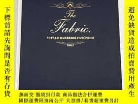 二手書博民逛書店The罕見Fabric: Vitale Barberis Can