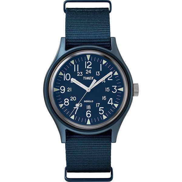 【TIMEX】天美時 MK1 潮流軍錶(藍 TXTW2R37300)