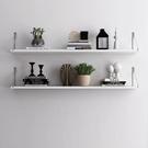 墻上置物架 免打孔墻上置物架現代簡約一字隔板網紅壁掛書架臥室客廳【快速出貨八折鉅惠】