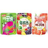 韓國 Jellico 恐龍造型/水果夾心/蜂蜜葡萄柚 軟糖(50g) 3款可選【小三美日】