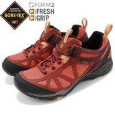 Merrell 戶外鞋 Siren Sport Q2 GTX 橘 紅 Gore-Tex 防水 透氣 越野 休閒鞋 運動鞋 女鞋【PUMP306】 ML12436