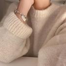 手鏈 韓版簡約手鏈女配飾高級ins小眾設計感冷淡風首飾學生森系手飾品【快速出貨八折優惠】