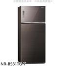 【南紡購物中心】Panasonic國際牌【NR-B581TG-T】579公升雙門變頻冰箱曜石棕