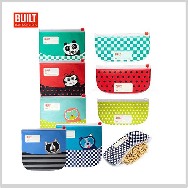 【A Shop】 BUILT NY Buddies Sandwich Bag&Snack Sleeve BASS系列食物收納袋-共5款