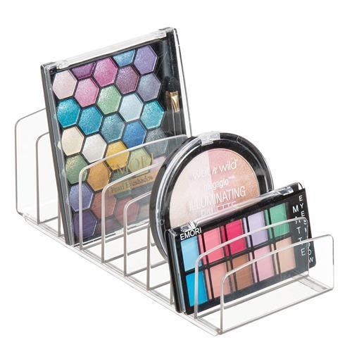 InterDesign Clarity立式塑料調色板 存放化妝品