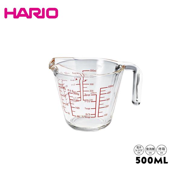 HARIO 好握加厚量杯 500ml 耐熱玻璃 公司貨