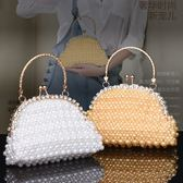手工DIY創意成人編織製作珍珠手提包包材料包散珠工藝品串珠飾品 英雄聯盟